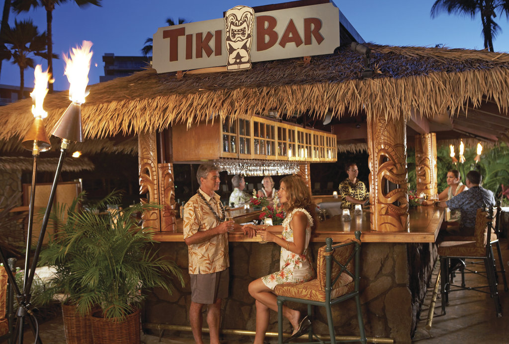 Kaanapali Beach Hotel  - Tiki Bar <br/>Image from Leonardo