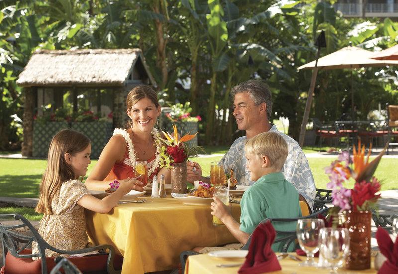 Kaanapali Beach Hotel  - Tiki Terrace Dining <br/>Image from Leonardo