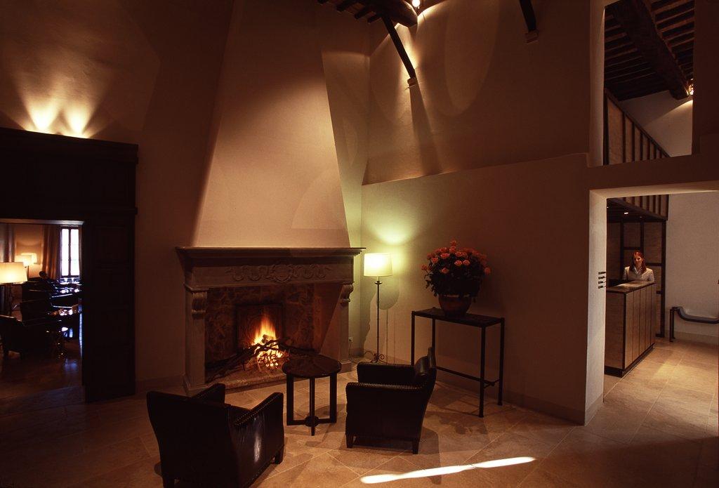 Castel Monastero-Lobby Area<br/>Image from Leonardo