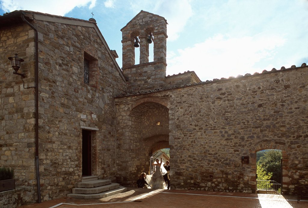 Castel Monastero-The Church<br/>Image from Leonardo