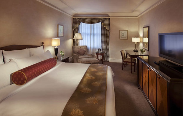 Benson Hotel-Deluxe King Room<br/>Image from Leonardo