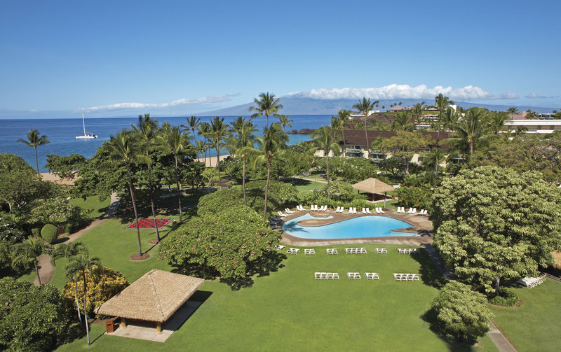 Kaanapali Beach Hotel  - Courtyard & Lawn <br/>Image from Leonardo