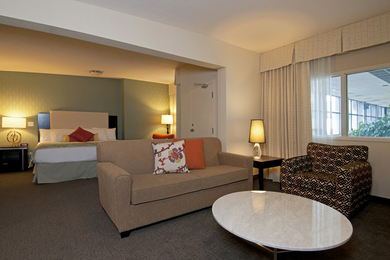 Coast Kamloops Hotel & C.C.-Honeymoon Suite - Living Area<br/>Image from Leonardo
