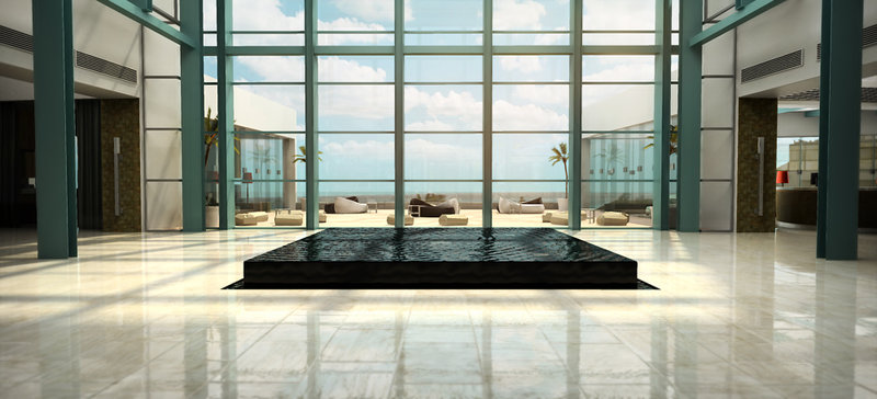 Live Aqua Cancun - Lobby <br/>Image from Leonardo
