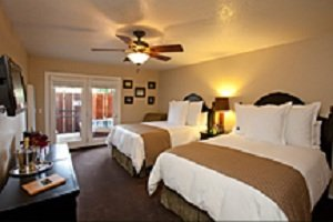 Sycamore Mineral Springs Resort-Stay Guestroom<br/>Image from Leonardo