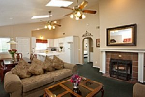 Sycamore Mineral Springs Resort-Stay Guestroom Two Bedroom<br/>Image from Leonardo