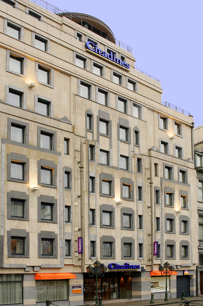 Citadines Toison d'Or Brussels-Facade<br/>Image from Leonardo