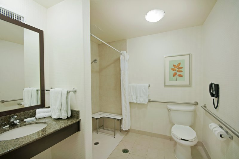 Hilton Garden Inn San Bernardino-Accessible Bathroom<br/>Image from Leonardo