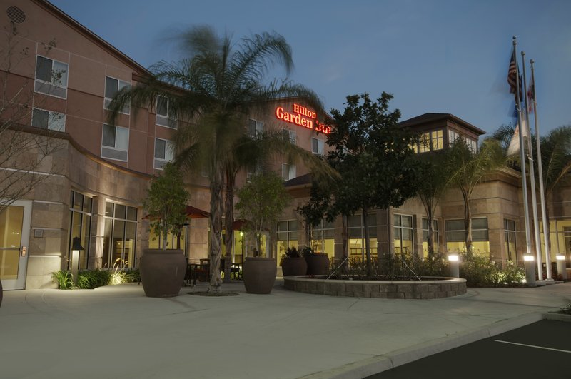 Hilton Garden Inn San Bernardino-Exterior Twilight<br/>Image from Leonardo
