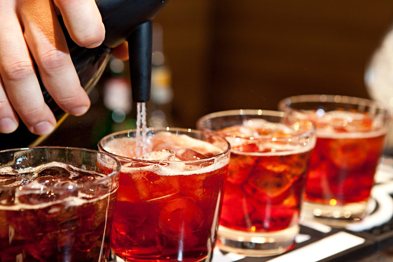 Crowne Plaza Verona Fiera-Beverage Selection<br/>Image from Leonardo