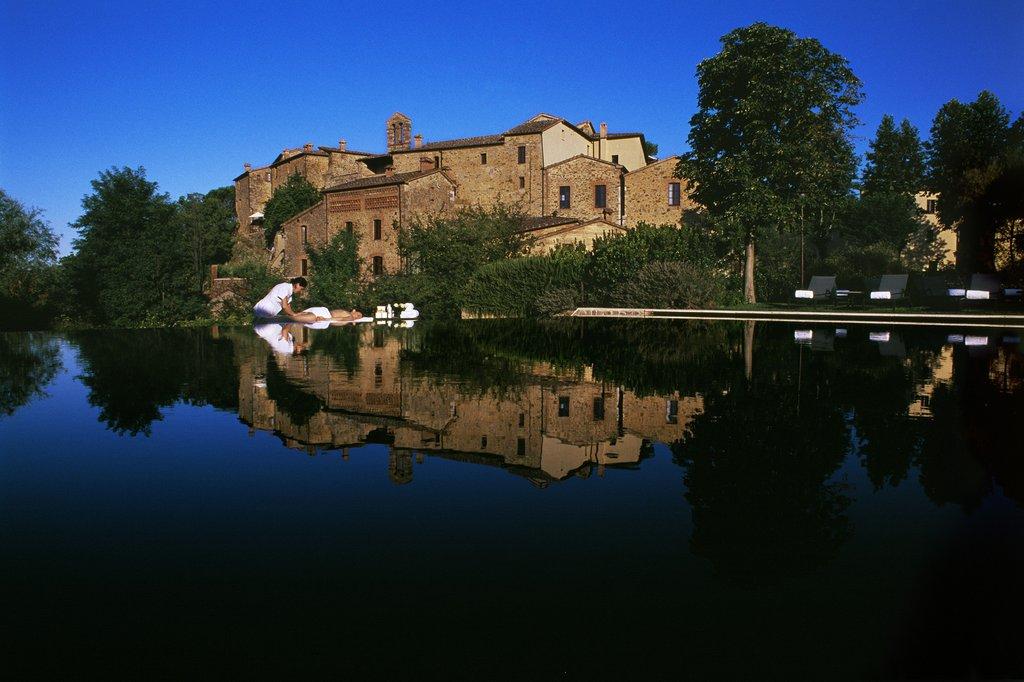 Castel Monastero-Castel Monastero Exterior View <br/>Image from Leonardo