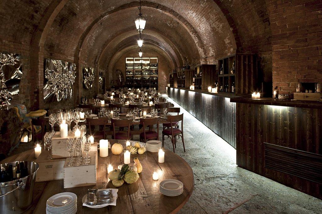 Castel Monastero-Cantina Restaurant <br/>Image from Leonardo