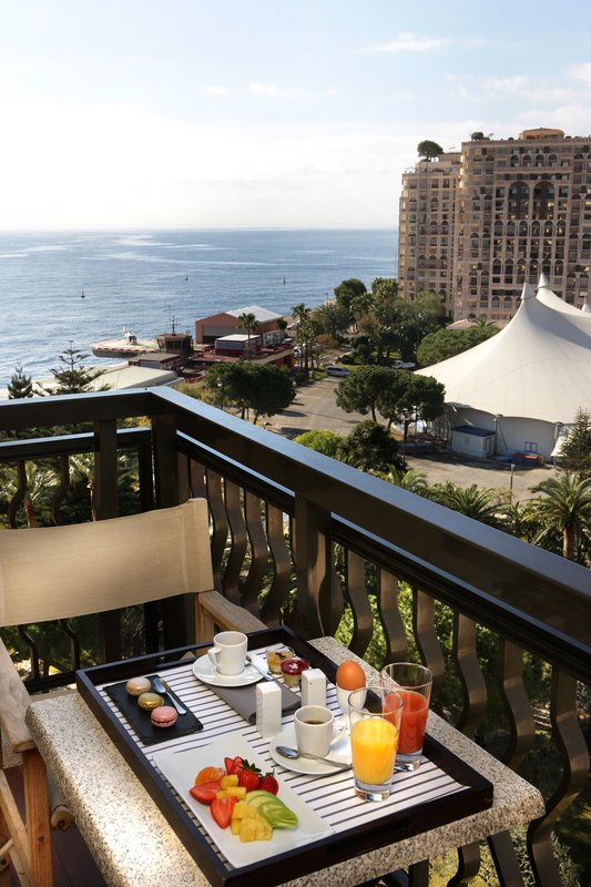 Columbus Monaco Hotel-View Rose Garden Sea<br/>Image from Leonardo