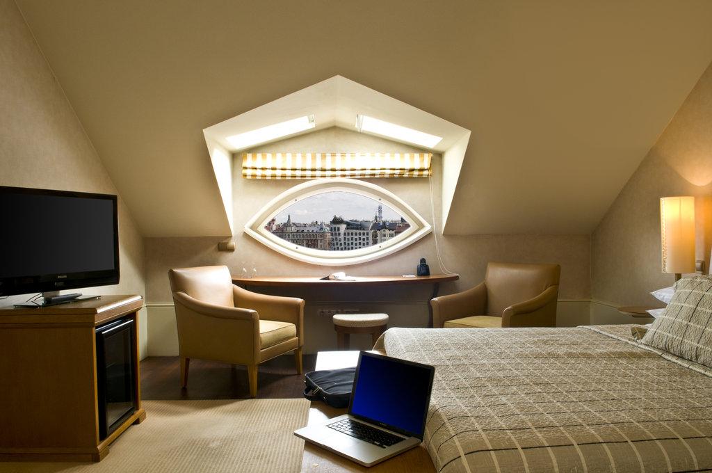 Mamaison Hotel Riverside - Junior Suite at Mamaison Hotel Riverside Prague <br/>Image from Leonardo