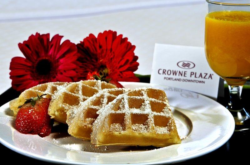 Crowne Plaza Portland-Downtown Conv Ctr-Waffle Breakfast: Crowne Plaza Portland Downtown<br/>Image from Leonardo