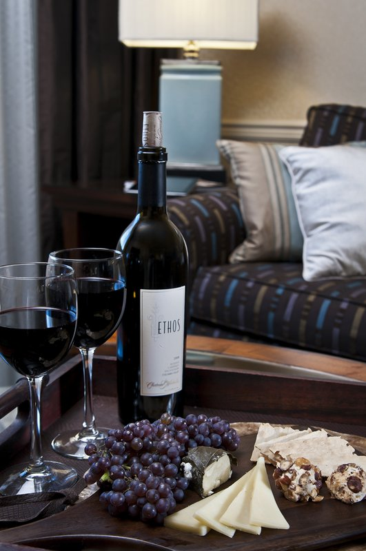 Crowne Plaza Portland-Downtown Conv Ctr-Wine, Fruit & Cheese Amenity: Crowne Plaza<br/>Image from Leonardo