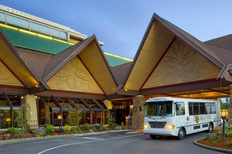 DoubleTree by Hilton Hotel Seattle Airport-Exterior with Shuttle<br/>Image from Leonardo
