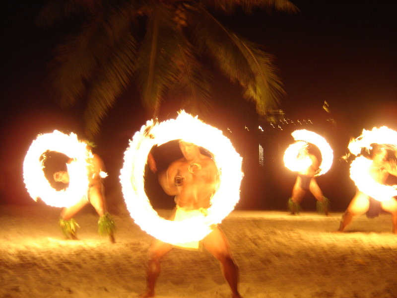 Vahine Island-Fire Dance<br/>Image from Leonardo