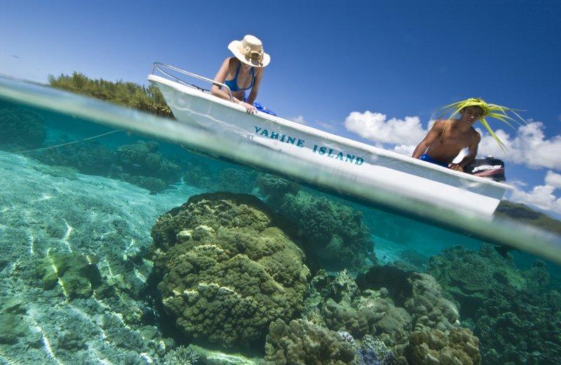 Vahine Island-Lagoon Exploration<br/>Image from Leonardo
