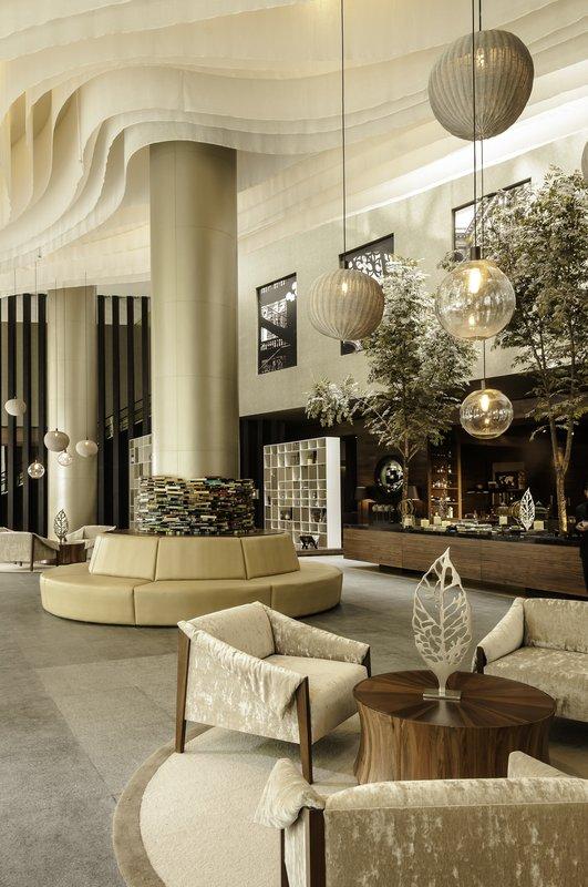 Live Aqua Urban Resort Mexico-Lobby<br/>Image from Leonardo