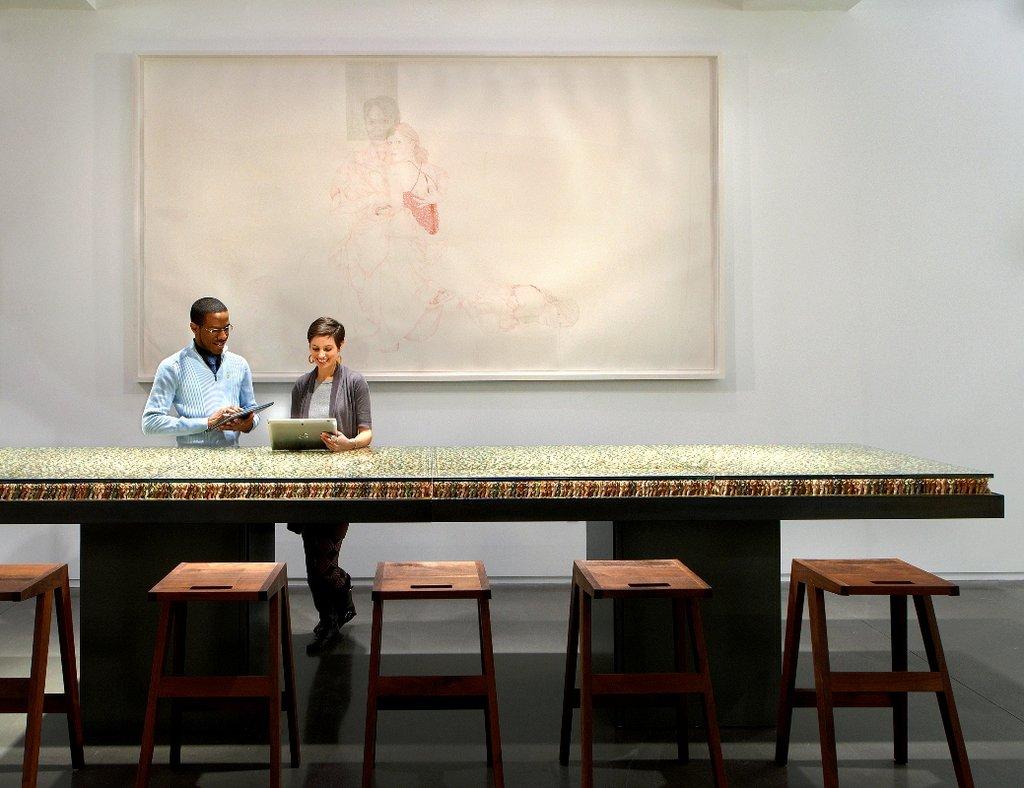 21c Museum Hotel Cincinnati-Lobby<br/>Image from Leonardo