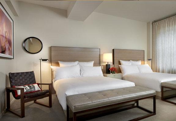 21c Museum Hotel Cincinnati-Luxury Double Queen<br/>Image from Leonardo