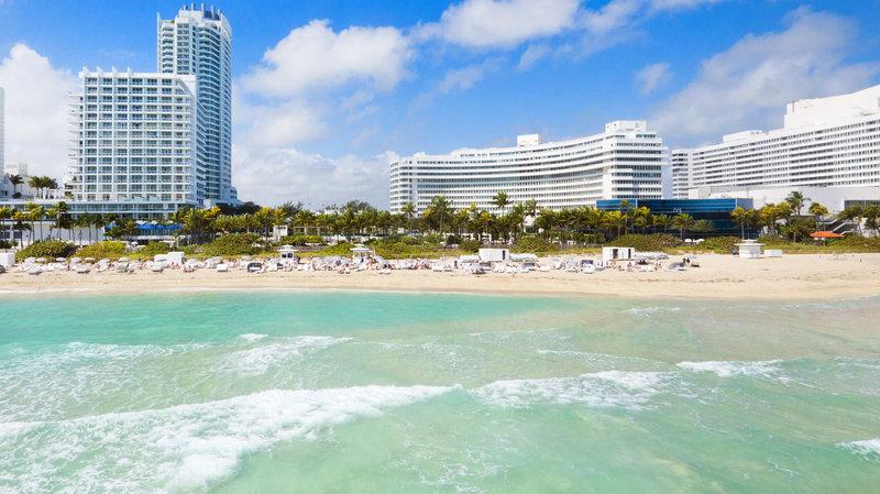 Fontainebleau Miami Beach - Fontainebleau Beach <br/>Image from Leonardo