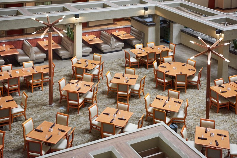 DoubleTree by Hilton Hotel Fresno Convention Center-International Café on-site restaurant<br/>Image from Leonardo
