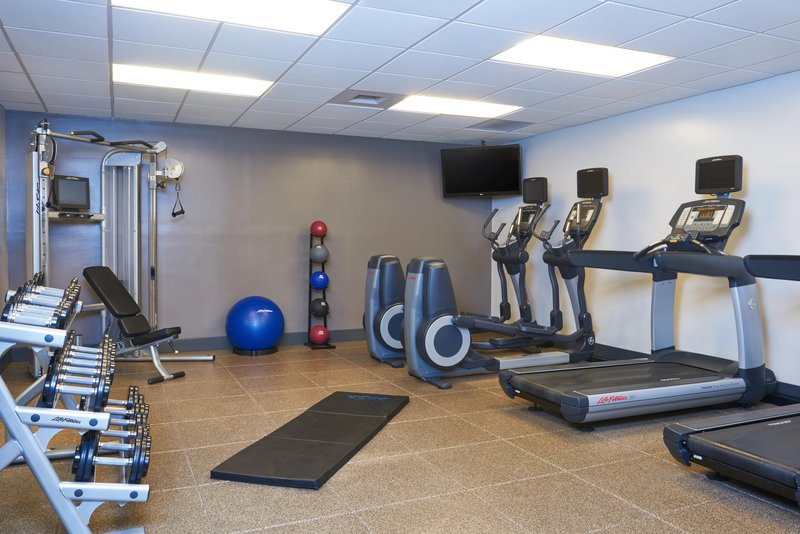 DoubleTree by Hilton Hotel Fresno Convention Center-Fitness Center<br/>Image from Leonardo