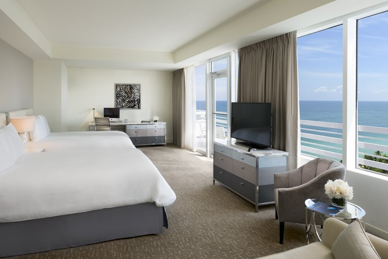 Fontainebleau Miami Beach - Oceanfront Junior Suite with balcony 2 Queens <br/>Image from Leonardo