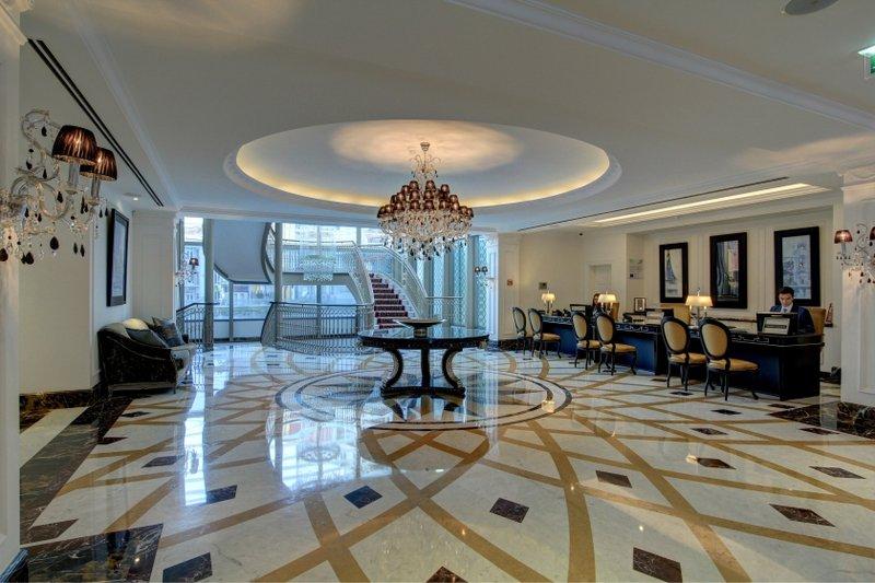 Intercontinental Porto - Palacio das Cardosas-Reception Area<br/>Image from Leonardo