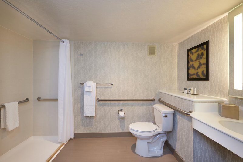 DoubleTree by Hilton Hotel Fresno Convention Center-Accessible guest bathroom<br/>Image from Leonardo