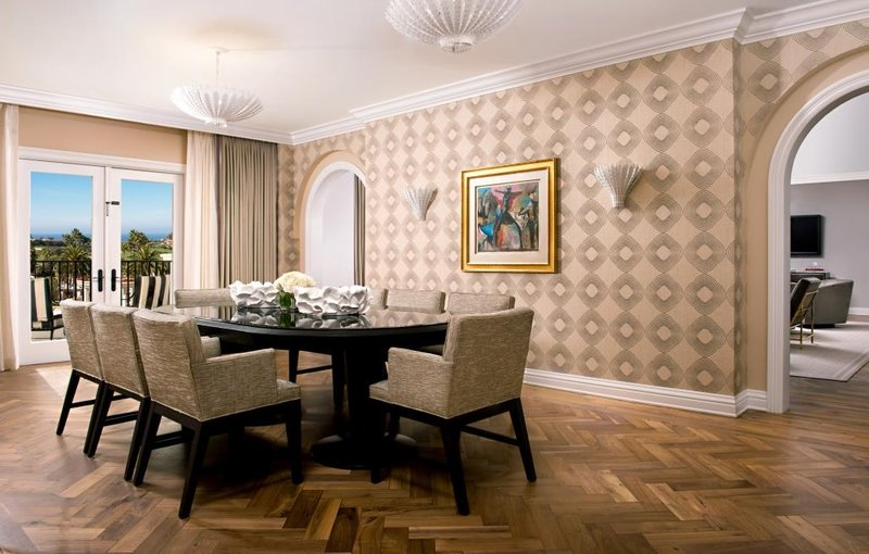 St. Regis Monarch Beach-Presidential Suite Dining Room<br/>Image from Leonardo