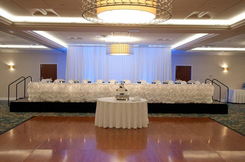 Crowne Plaza Hotel & Suites Pittsburgh South-Wedding Ballroom Head Table<br/>Image from Leonardo