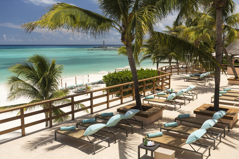 Grand Fiesta Americana Coral Beach Cancun - Grand Club Terrace <br/>Image from Leonardo