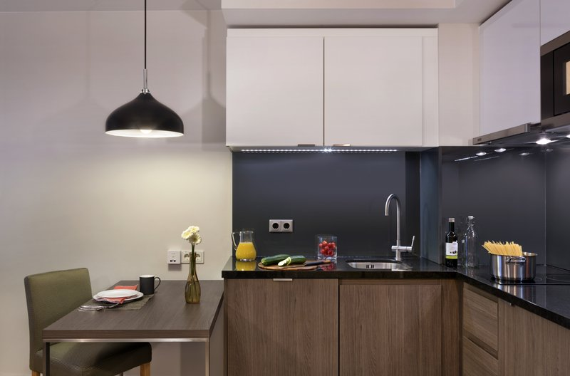 Citadines Michel Hamburg-Kitchen of studio Deluxe, Citadines  Michel Hamburg<br/>Image from Leonardo