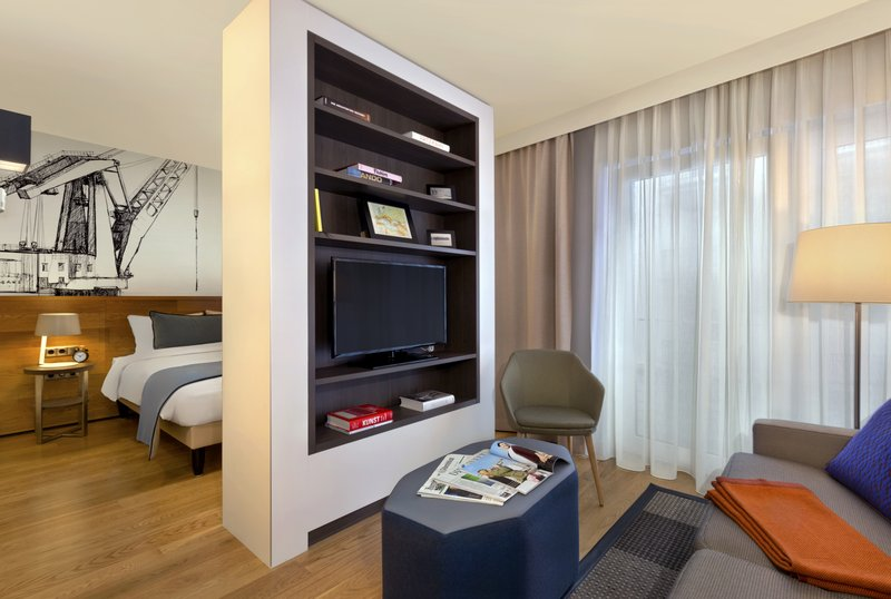 Citadines Michel Hamburg-Living room of studio Deluxe, Citadines Michel Hamburg<br/>Image from Leonardo