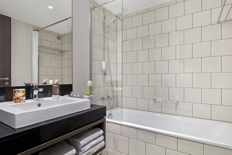 Citadines Michel Hamburg-Bathroom of 1-bedroom apartment, Citadines Michel Hamburg<br/>Image from Leonardo