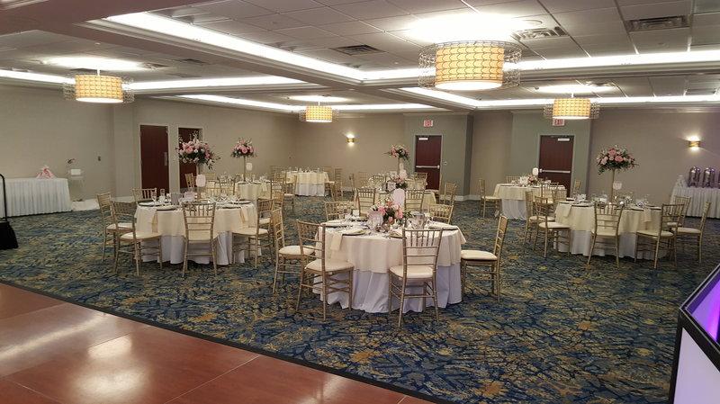 Crowne Plaza Hotel & Suites Pittsburgh South-Ballroom Wedding Set Up<br/>Image from Leonardo