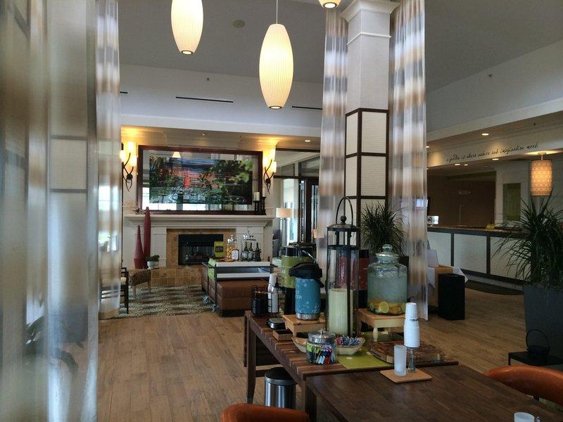 Hilton Garden Inn Riverhead-Lobby<br/>Image from Leonardo