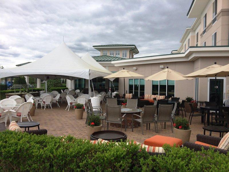 Hilton Garden Inn Riverhead-Outdoor Patio<br/>Image from Leonardo