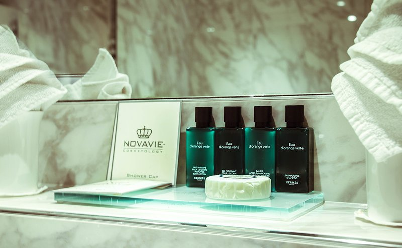 De Orangerie-Luxurious Hermes toiletries<br/>Image from Leonardo