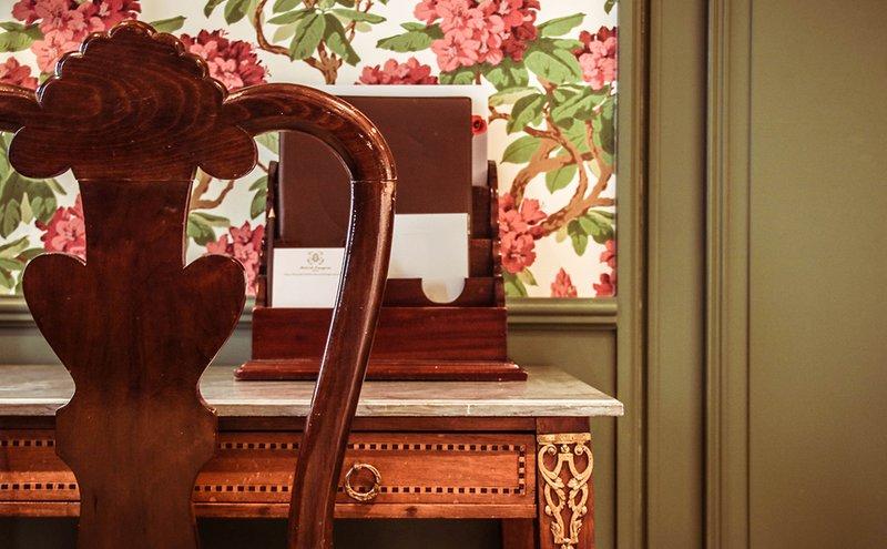 De Orangerie-Detail in Heritage Room<br/>Image from Leonardo