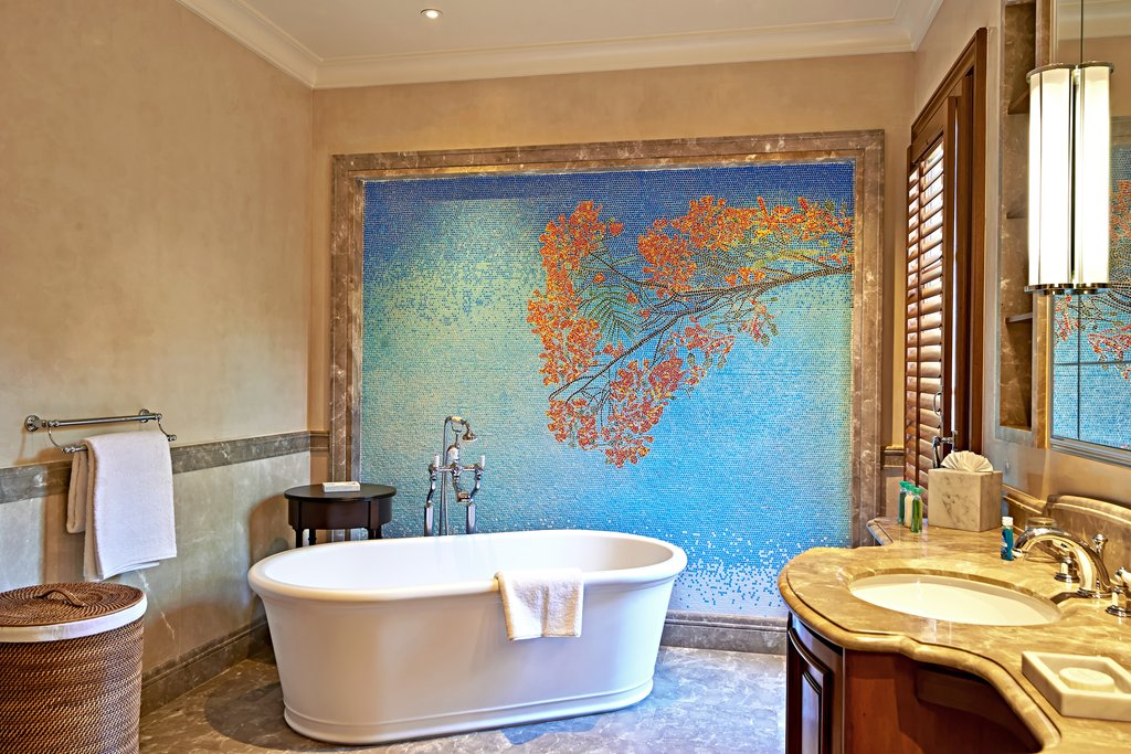 Young  Island  Resort-Turtle Creek Bathroom<br/>Image from Leonardo