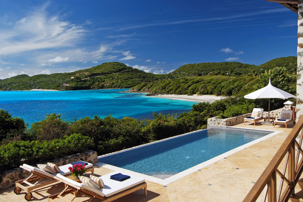 Young  Island  Resort-Pool Deck at The Beach House<br/>Image from Leonardo