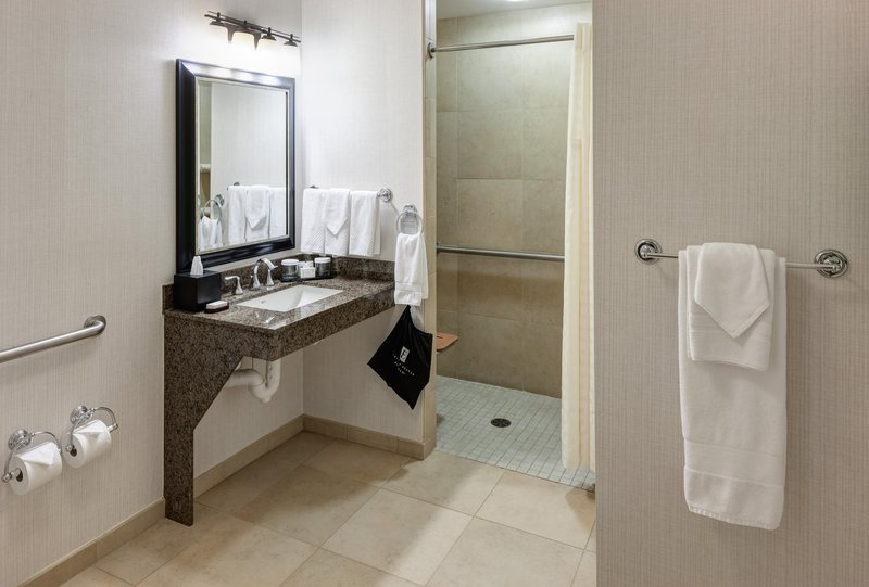 Embassy Suites by Hilton Anchorage-Roll in shower<br/>Image from Leonardo