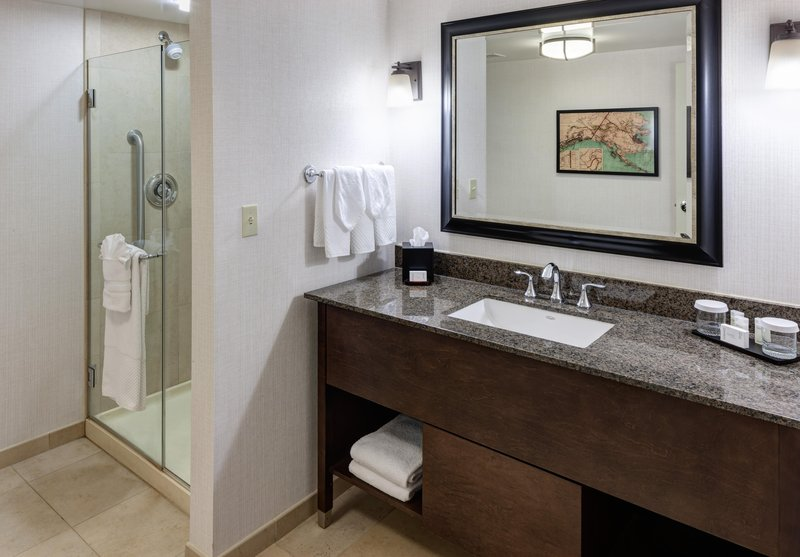 Embassy Suites by Hilton Anchorage-Bathroom<br/>Image from Leonardo