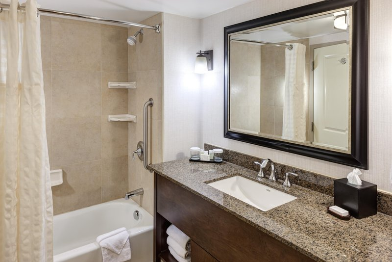 Embassy Suites by Hilton Anchorage-Vanity and tub<br/>Image from Leonardo