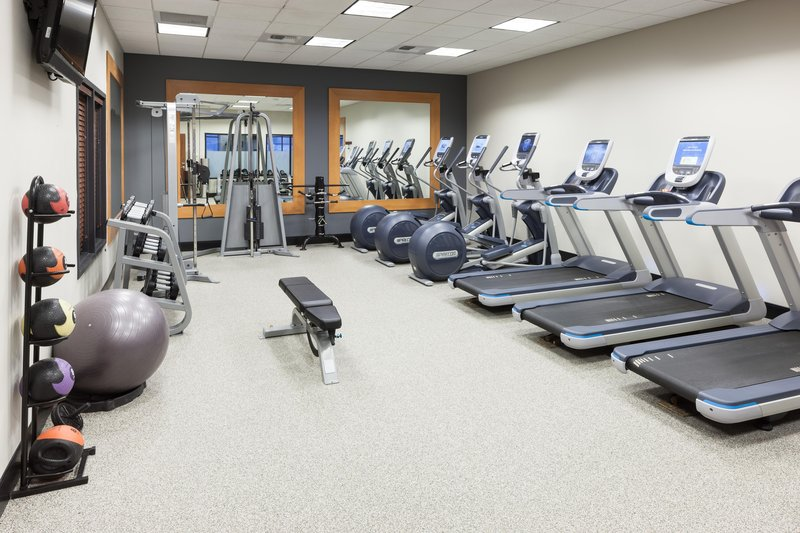 Embassy Suites by Hilton Anchorage-Fitness Center<br/>Image from Leonardo