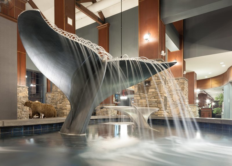Embassy Suites by Hilton Anchorage-Fountain<br/>Image from Leonardo